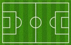 大尺寸足球场分层背景