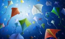 各种不同的风筝素材图片