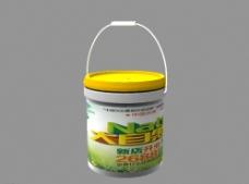 油漆桶  模型 包装设计图片