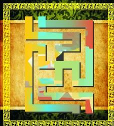 藏式 门槛边图片