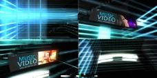 光线空间中的banner卡片式演示
