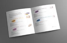 微整形 化妆品画册 简洁画册