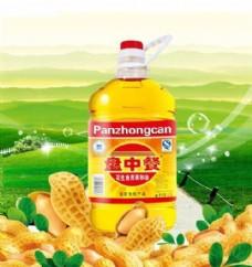 盘中餐 食用油 食品广告
