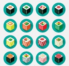日本寿司图标