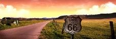 66公路banner创意设计