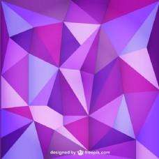三角形的紫色背景