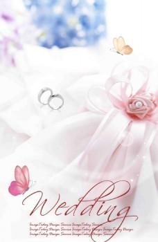 婚禮婚卡高清背景設計模板