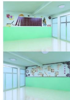 学校大厅设计图片