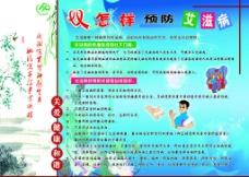 预防艾滋病展板图片