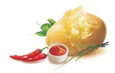 薯片土豆图片