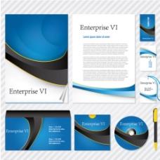 高端VI界面设计宣传海报图片