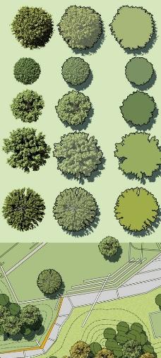 别墅室外设计4_园林景观