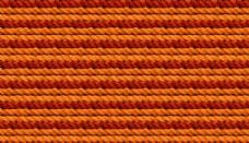橙色麻绳背景填充图案