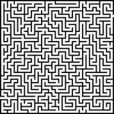 矢量迷宫图案设计
