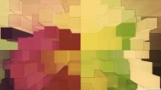 立体色彩渐变背景