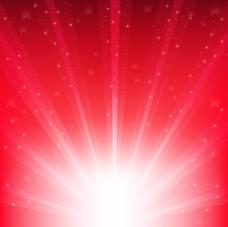 红色发光背景图片