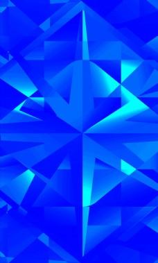 蓝色几何背景