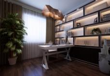 书房 室内设计 家居图片