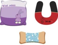 疯兔抱枕效果图图片