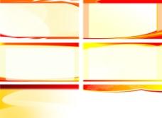 多款紅色展板背景圖片