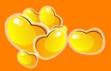 金豆子素材图片