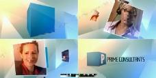 围绕立方体滚动展示的图片视频