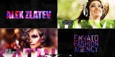 充满时尚魅力的广告宣传AE模板