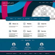 创意网页背景模板
