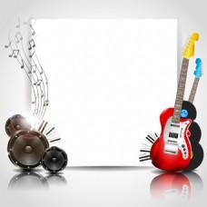 音乐海报设计矢量素材