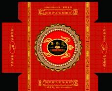 闽南特色食品包装五金龟红色吉祥图片