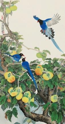 果熟聚禽图片