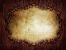 复古镜子背景图片