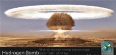 原子弹爆炸模拟动画AE模板