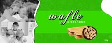 华夫饼干外包装设计