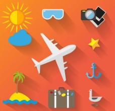 旅游小图标图片
