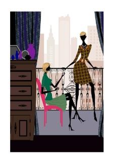 时尚女性生活场景之约会图片
