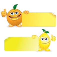 卡片纸与水果