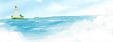 大海?#21482;?素材 天空大海