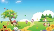 幼儿园广告设计图片