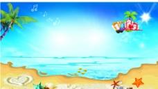 夏日海边图片