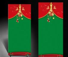 圣诞节通用展架