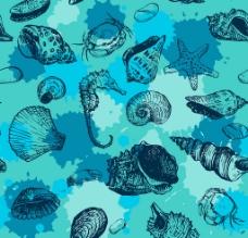 贝壳矢量图图片