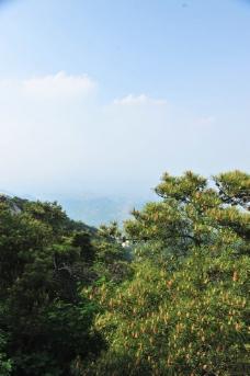 蓝天白云 山谷图片