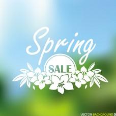 春季促销海报图片
