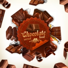 巧克力矢量素材