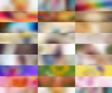 25款淘宝梦幻渐变色广告背景图片