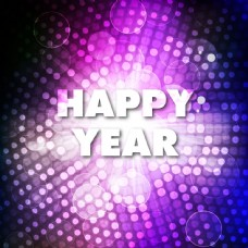 新年光效背景