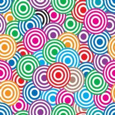 炫彩线条几何背景