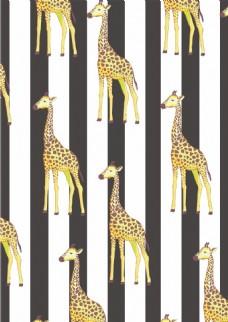 动物图案背景设计