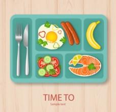 美味午餐食品图片